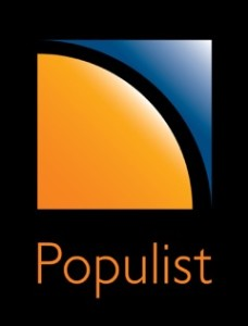 Populist cleaning logo
