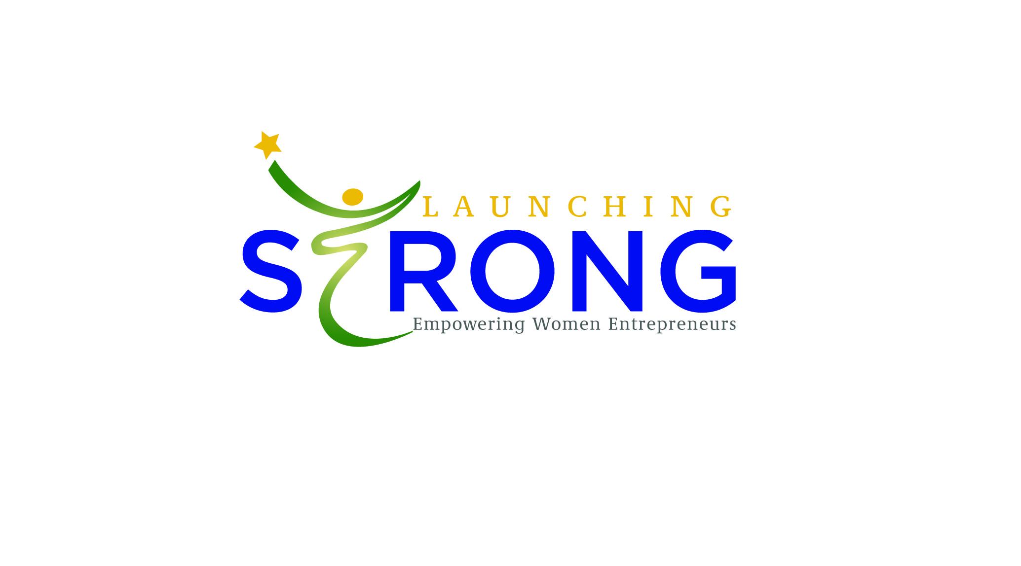 Launching Strong Logo